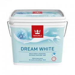 Opakowanie 10 litrów z farbą Tikkurila Dream White