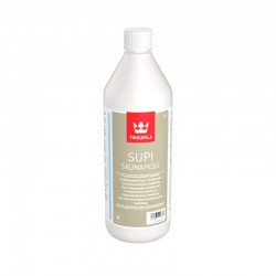 Opakowanie ze środkiem czyszczącym Tikkurila Supi Saunapesu (1 litr)