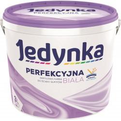 Opakowanie 3-litrowe z farbą Jedynka Perfekcyjna Biała