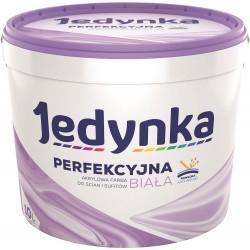Opakowanie 10-litrowe z farbą Jedynka Perfekcyjna Biała