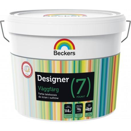 Beckers Designer Väggfärg Matt [7] (9 litrów)