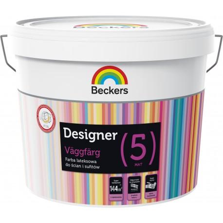 Beckers Designer Väggfärg Helmatt [5]  (9 litrów)