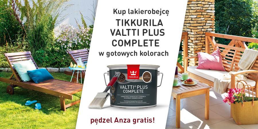 Tikkurila Valtti Plus Complete +pędzel Anza